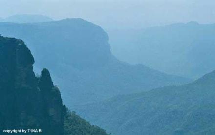 Blue Mountains - Landschaft Blue Mountains