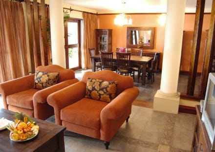 Royal Suite Living room and dinning room -