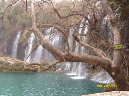 Der Kursunlu-Wasserfall! - Kursunlu Wasserfälle