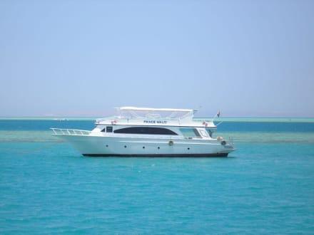 Yacht von Prinz Walid - Schnorcheln Hurghada