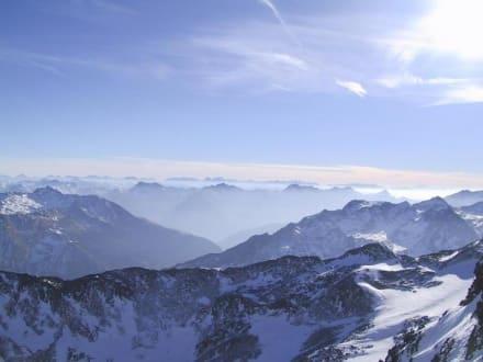 Hochgurgl Aussichtspunkt - Skigebiet Hochgurgl
