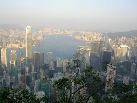 Hongkong Island, Blick vom Peak aus - Victoria Peak