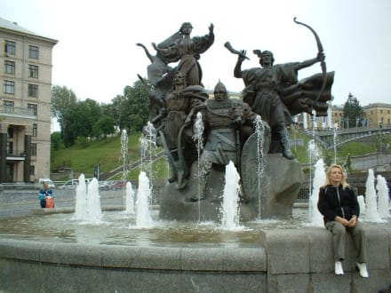 Denkmal - Europa Platz