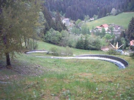 Einfahrt zum Senna-S - Freizeitpark Seewald Enzklösterle Poppeltal
