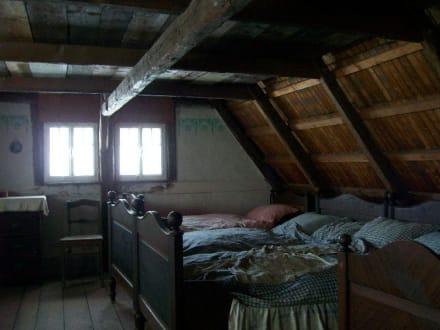 Kammer im Stellmacherhaus - Freilichtmuseum
