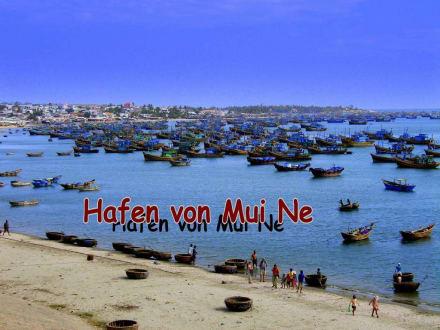 Fischerhafen - Fischereihafen Mui Ne