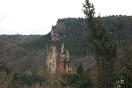 Burg Ramstein und Geyersley - Eifelsteig