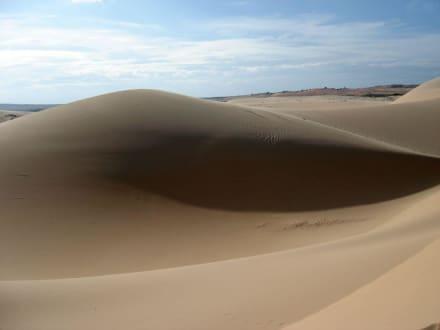 Weiße Sanddünen - Sanddünen
