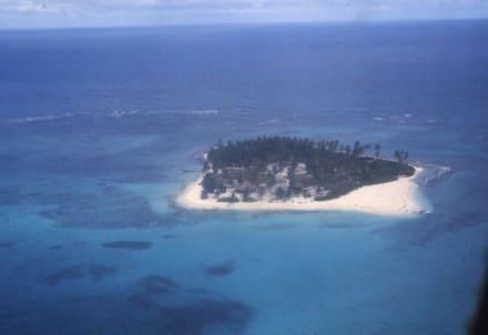 Die Insel Johny Cay - Insel Johny Cay