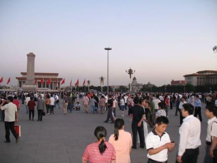 Abends am Platz des himmlischen Friedens 1 - Platz des himmlischen Friedens