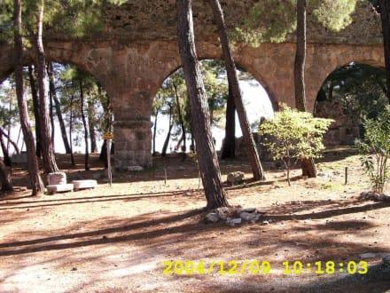 Eingang - Aspendos, die antike Stadt