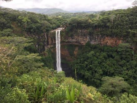 Chamarel Wasserfall - Chamarel-Wasserfall