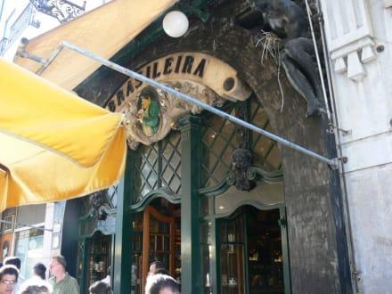 Eingang - Cafe Brasileira
