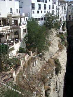 Häuser über der Schlucht - Altstadt Ronda