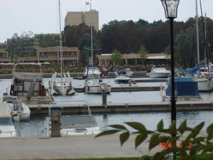 Hafenansicht von Sani Marina - Yachthafen Cap Sani