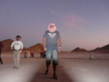 Eine Pause ist wichtig. - Quad Tour Marsa Alam