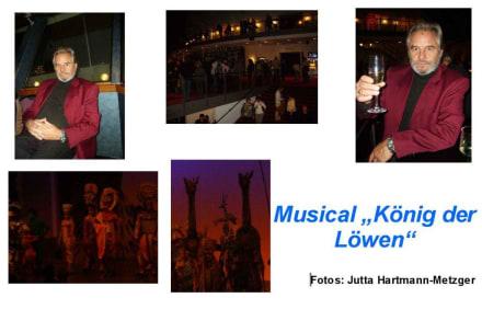 Im Hafentheater Hamburg - Musical König der Löwen
