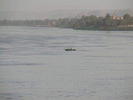 Abendstimmung am Nil - Nil