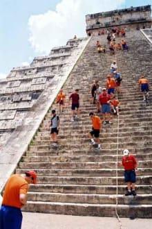 Pyramide von Chitchen Itza - Ruine Chichén Itzá