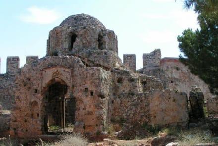 Altes Gemäuer auf der Burg in Alanya - Burg von Alanya  (Ic Kale)