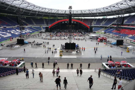 Bilder Hdi Arena Vor Dem Coldplay Konzert Hannover