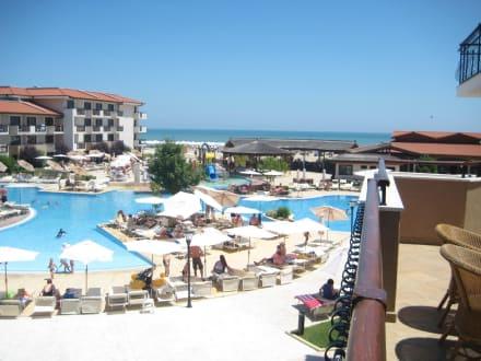 Poolanlage - HVD Hotel Miramar