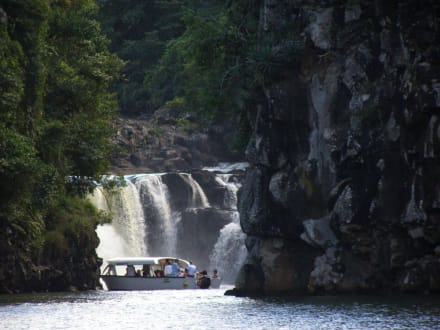 Vor dem Wasserfall - Grand River South East Waterfall