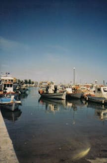 Am Hafen - Hafen Paralia