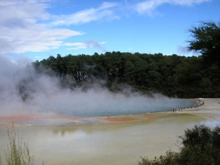 Sonstige Sehenswürdigkeit - Waiotapu Thermal Wonderland
