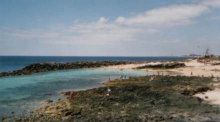 Strand in Costa Teguise Lanzarote - Strände Costa Teguise