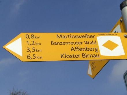 Wanderung Mimmenhausen-Salem - Affenberg