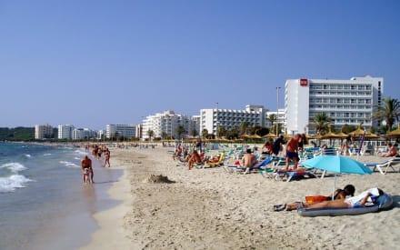 Morgens am Strand von Cala Millor - Strand Cala Millor