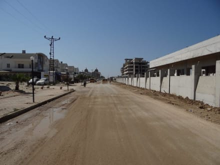 Der Weg von den Geschäften zurück - Belek Beach Resort