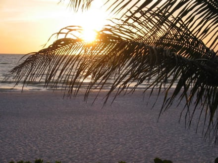 Sonnenuntergang - Strand Naples