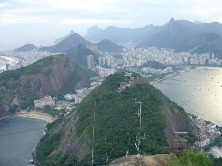 Blick auf Rio vom Zuckerhut - Zuckerhut