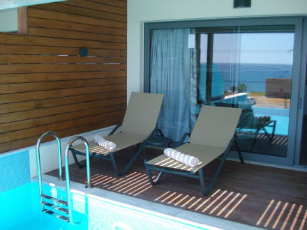 Pool Auf Dem Balkon