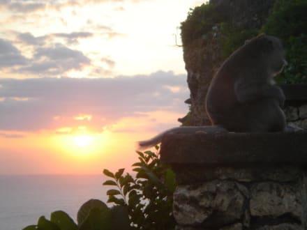Sonnenuntergang Ulu Watu - Uluwatu Tempel