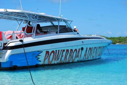 Mit dem Powerboat zum Hai tauchen - Haitauchen