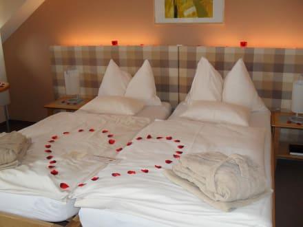 Romantische Dekoration Im Zimmer Bild Hotel Das