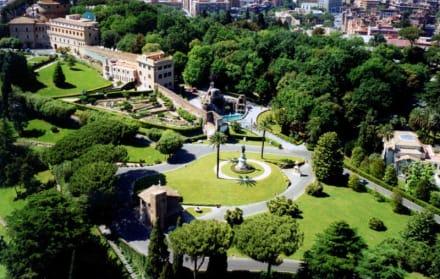 Der Vatikanische Garten - Vatikanische Gärten