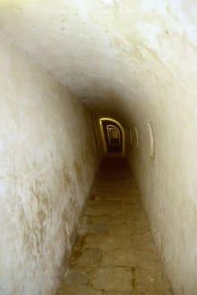 Langer Tunnel - Castillo de los tres Reyes del Morro