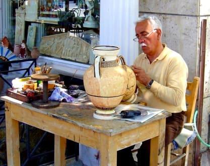 Korinth - Töpferei - Das antike Korinth