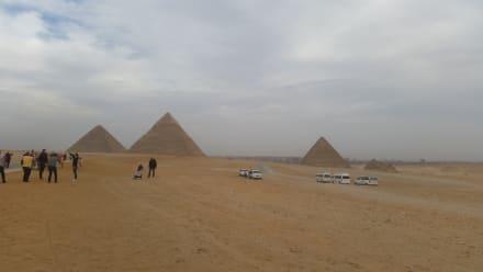 Kairo/Pyramiden - Pyramiden von Gizeh