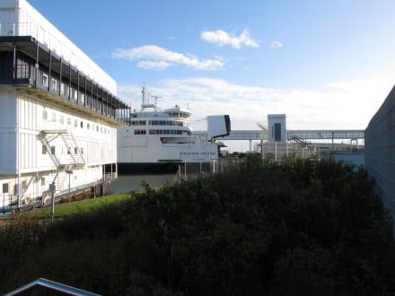 Nach Dänemark fahren - Fährhafen Puttgarden