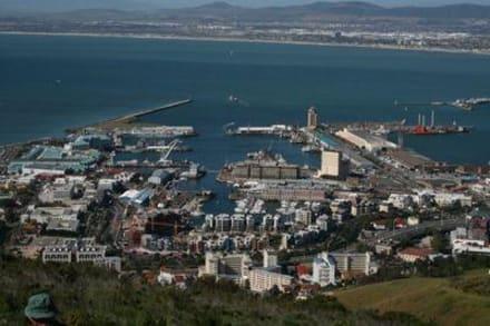 Blick auf die Waterfront - Signal Hill