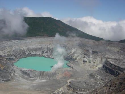 Poas Krater - Nationalpark Vulkan Poas