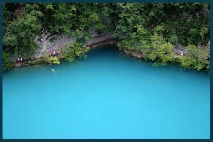 Plitvicer Seen - Blauer als blau! - Nationalpark Plitvicka Jezera (Plitvicer Seen)