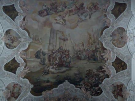 Barockes Deckengemälde - Kloster Metten