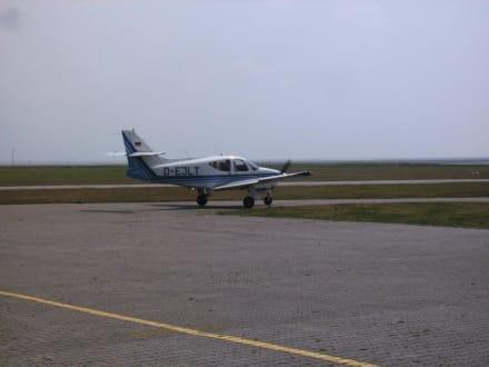 Flugplatz am Kalfarmer - Insel Juist