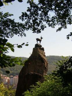 Hirschensprung - Hirschsprung - Jelení skok